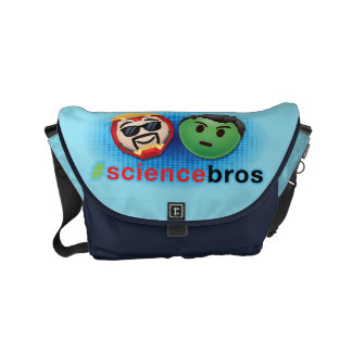 Iron Man & Hulk #sciencebros Emoji Commuter Bags