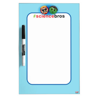 Iron Man & Hulk #sciencebros Emoji Dry Erase Board