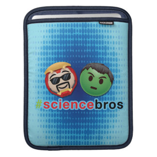 Iron Man & Hulk #sciencebros Emoji iPad Sleeve