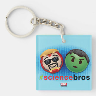 Iron Man & Hulk #sciencebros Emoji Key Ring