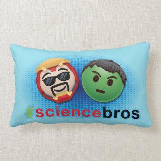 Iron Man & Hulk #sciencebros Emoji Lumbar Cushion
