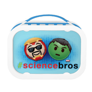 Iron Man & Hulk #sciencebros Emoji Lunch Box
