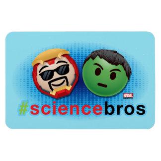 Iron Man & Hulk #sciencebros Emoji Magnet