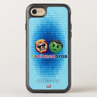 Iron Man & Hulk #sciencebros Emoji OtterBox Symmetry iPhone 7 Case