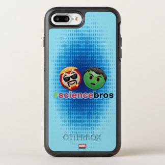 Iron Man & Hulk #sciencebros Emoji OtterBox Symmetry iPhone 7 Plus Case