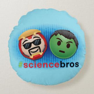 Iron Man & Hulk #sciencebros Emoji Round Cushion