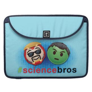 Iron Man & Hulk #sciencebros Emoji Sleeve For MacBooks