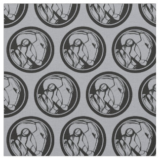 Iron Man Profile Logo Fabric