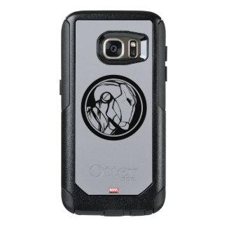 Iron Man Profile Logo OtterBox Samsung Galaxy S7 Case