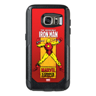 Iron Man Retro Breaking Chains Comic OtterBox Samsung Galaxy S7 Case
