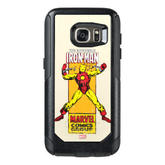 Iron Man Retro Breaking Chains Comic OtterBox Samsung Galaxy S7 Case