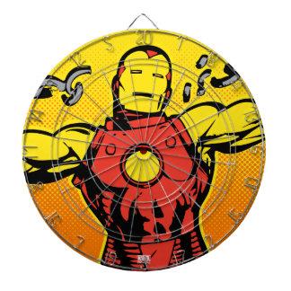 Iron Man Retro Breaking Chains Dartboards