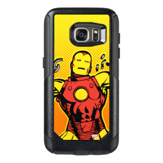 Iron Man Retro Breaking Chains OtterBox Samsung Galaxy S7 Case
