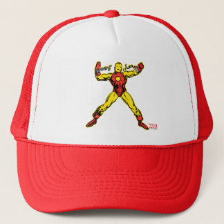 Iron Man Retro Breaking Chains Trucker Hat