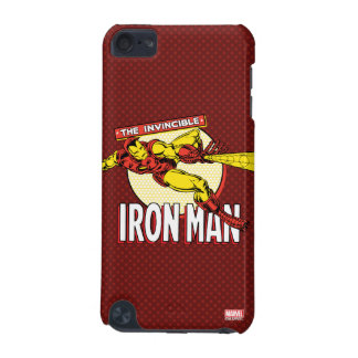 Iron Man Retro Character Graphic iPod Touch 5G Case