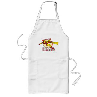 Iron Man Retro Character Graphic Long Apron