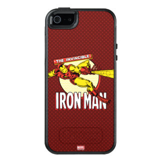 Iron Man Retro Character Graphic OtterBox iPhone 5/5s/SE Case