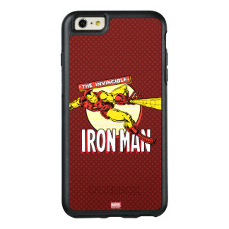 Iron Man Retro Character Graphic OtterBox iPhone 6/6s Plus Case