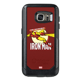 Iron Man Retro Character Graphic OtterBox Samsung Galaxy S7 Case