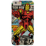 Iron Man Retro Comic Collage Barely There iPhone 6 Plus Case