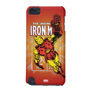 Iron Man Retro Comic Price Graphic iPod Touch (5th Generation) Cases