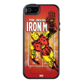 Iron Man Retro Comic Price Graphic OtterBox iPhone 5/5s/SE Case