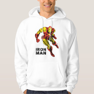 Iron Man Retro Flying Hoodie
