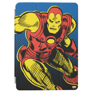 Iron Man Retro Flying iPad Air Cover
