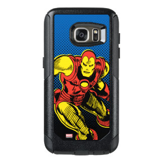 Iron Man Retro Flying OtterBox Samsung Galaxy S7 Case