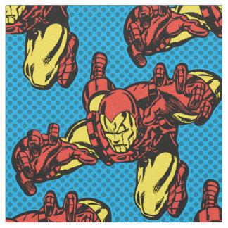 Iron Man Retro Grab Fabric