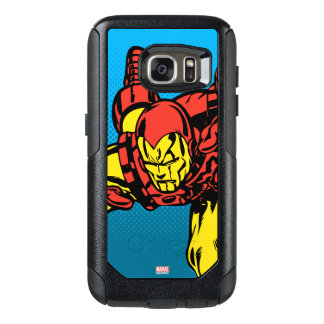 Iron Man Retro Grab OtterBox Samsung Galaxy S7 Case
