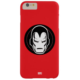 Iron Man Retro Icon Barely There iPhone 6 Plus Case