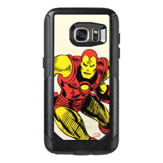 Iron Man Retro Jump OtterBox Samsung Galaxy S7 Case