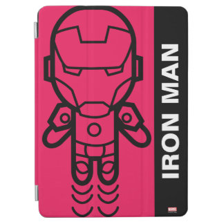 Iron Man Stylized Line Art iPad Air Cover