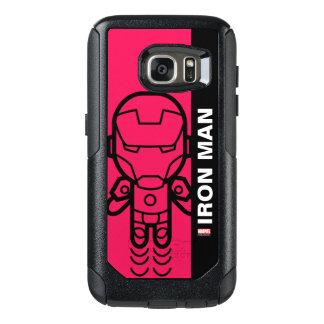 Iron Man Stylized Line Art OtterBox Samsung Galaxy S7 Case