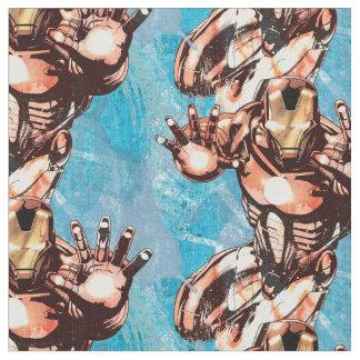 Iron Man Watercolor Character Art Fabric