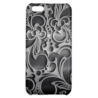 Iron Metal iPhone 5C Glossy Finish Case Case For iPhone 5C