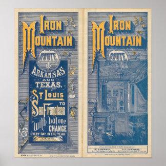 Iron Mountain Route Poster