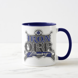Iron Orr Brewery 2 tone coffee mug