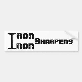 Iron Sharpens Iron sticker