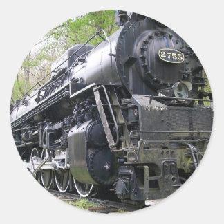 Iron Train Old School Beast Round Sticker