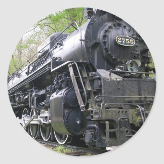Iron Train Old School Beast Classic Round Sticker