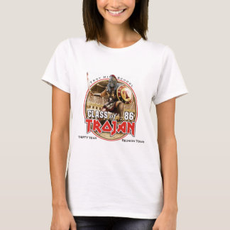 Iron Trojan Concert Tee (white or light colors)