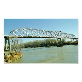 Iron Truss Bridge Photo