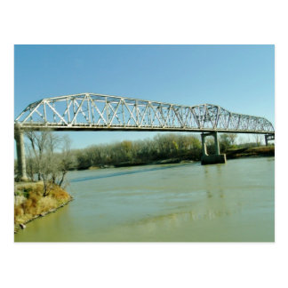 Iron Truss Bridge Postcard