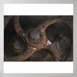 Iron Wheel Poster