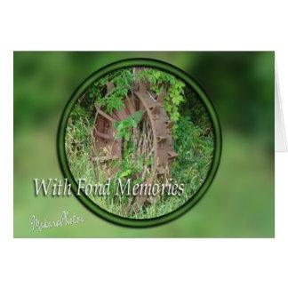 Iron Wheel Sympathy-customize Card