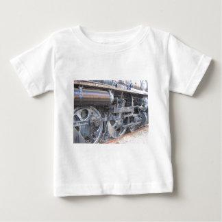 Iron Wheels of a Steam Engine Railroad Train Tshirts