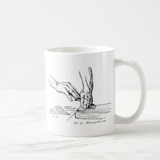 Iron Whetting Illustration Coffee Mug