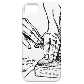 Iron Whetting Illustration iPhone 5 Cases